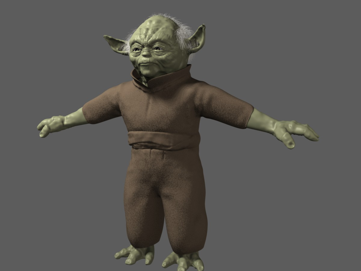 Yoda Full Body Cartoon Wwwtollebildcom
