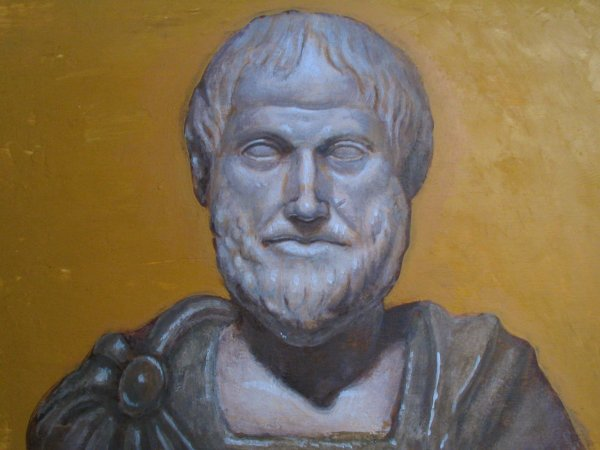 Casein-Tempera Test: Aristotle